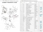Regulacyjna prowadnica bloku napędu transportu (4-24) GK 26-1A, Zoje Zj 26-1A