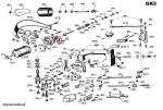 Mocowanie przewodu od przełącznika (9D1) GK9-2