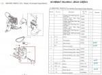 Silnik do zaszywarki z kołem pasowym (HCF 2880) GK 26-1A Zoje ZJ 26-1A