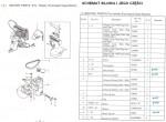 Mocowanie silnika (1-390 GK 26-1A, Zoje ZJ 26-1A