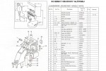 Filc bloku napędu transportu (4-19) GK 26-1A, Zoje ZJ 26-1A